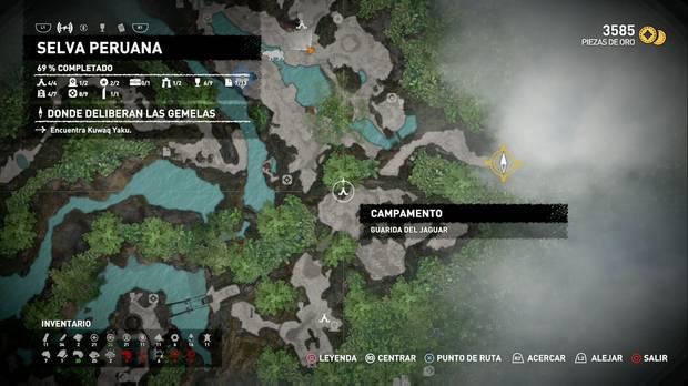 Shadow of the Tomb Raider - Donde deliberan las gemelas: comienzas muy cerca del inicio de la misión anterior