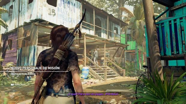 Shadow of the Tomb Raider - Donde deliberan las gemelas: personaje Omar
