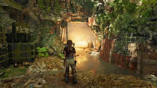 Shadow of the Tomb Raider - Donde deliberan las gemelas: prende fuego a la barricada