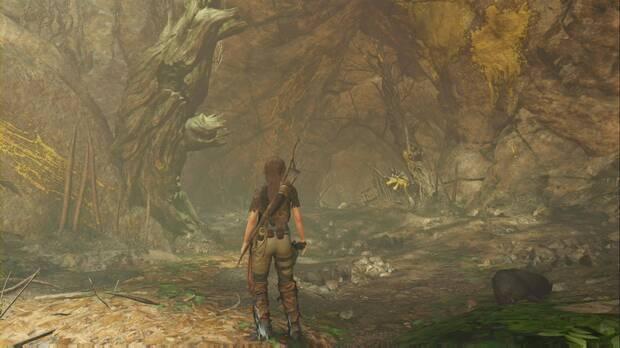 Shadow of the Tomb Raider - Donde deliberan las gemelas: cueva por la que se entra a la Tumba