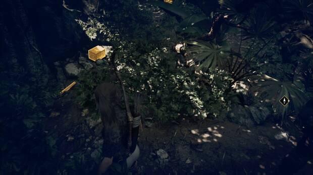 Shadow of the Tomb Raider - Donde deliberan las gemelas: localización del documento Diario de Jack 4
