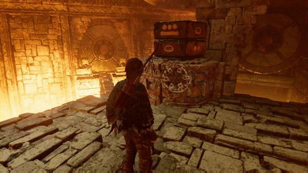 Shadow of the Tomb Raider - La senda de los vivos: solución al puzzle de las fechas (izquierda)