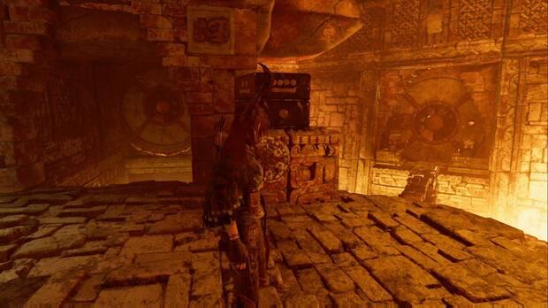 Shadow of the Tomb Raider - La senda de los vivos: solución al puzzle de las fechas (derecha)