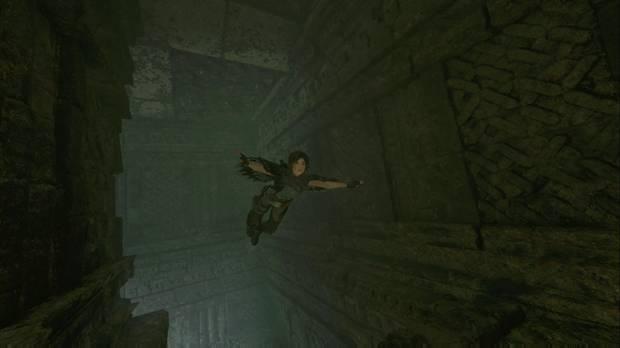 Shadow of the Tomb Raider - La senda de los muertos: escapa de las pirañas por los túneles submarinos