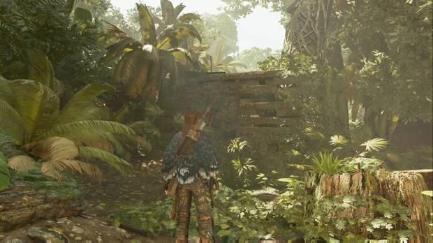Shadow of the Tomb Raider - La senda de los muertos: trepa por el muro sudeste