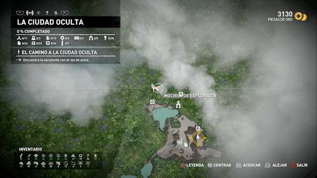 Shadow of the Tomb Raider - El camino a la ciudad oculta: localización de la Mochila de explorador