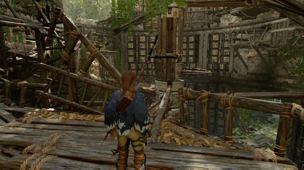 Shadow of the Tomb Raider - El camino a la ciudad oculta: sube por el molino