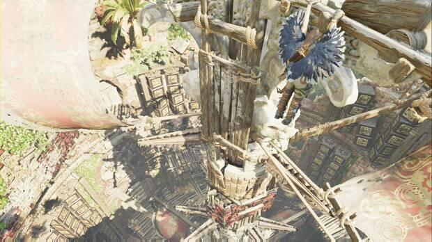 Shadow of the Tomb Raider - El camino a la ciudad oculta: espera a que las piezas giren para subir
