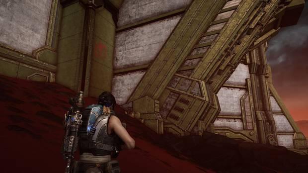Gears of War 5 - Armas reliquia: Pistola de cañón corto reliquia