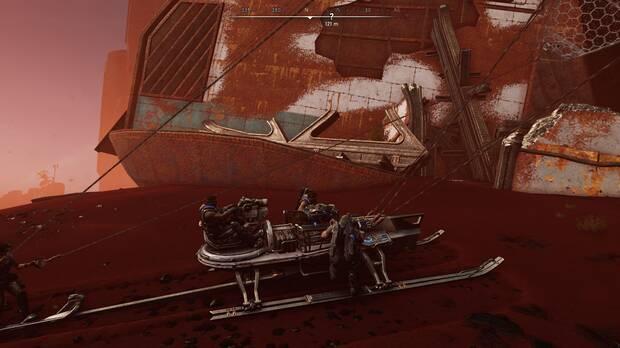 Gears of War 5 - Armas reliquia: Lancer reliquia
