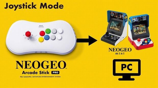 El mando arcade de SNK incluirá 20 juegos de lucha y se lanzará en todo el mundo Imagen 3