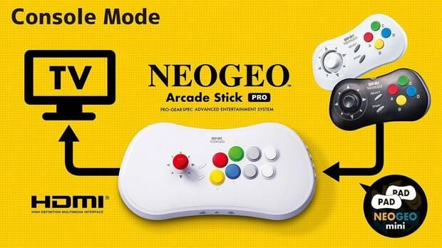 El mando arcade de SNK incluirá 20 juegos de lucha y se lanzará en todo el mundo Imagen 4