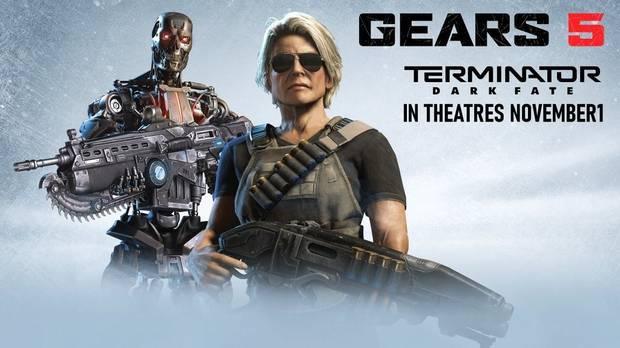 Sarah Connor de Gears 5