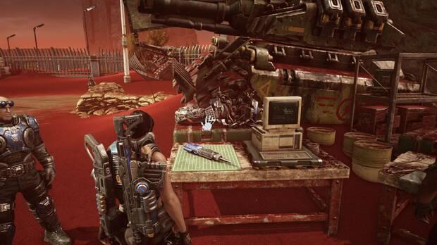 Gears of War 5 - Localización de la habilidad Pirateo