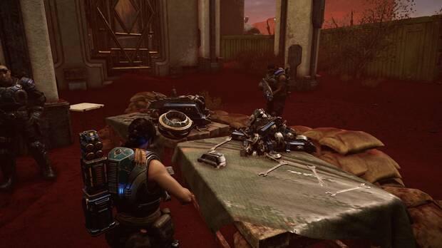 Gears of War 5 - Localización de la habilidad Barrera