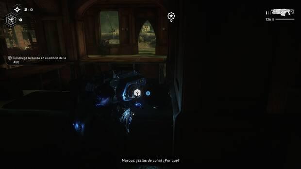 Gears of War 5 - Localización de la mejora definitiva Sobrecarga letal