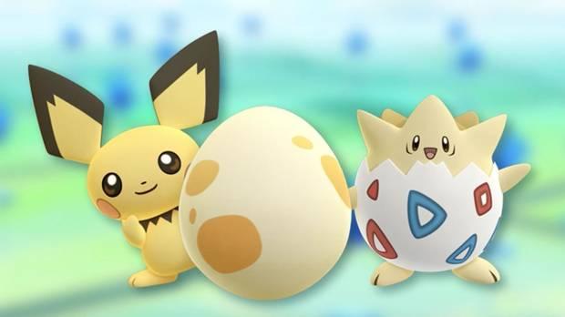 Huevos en Pokémon Go