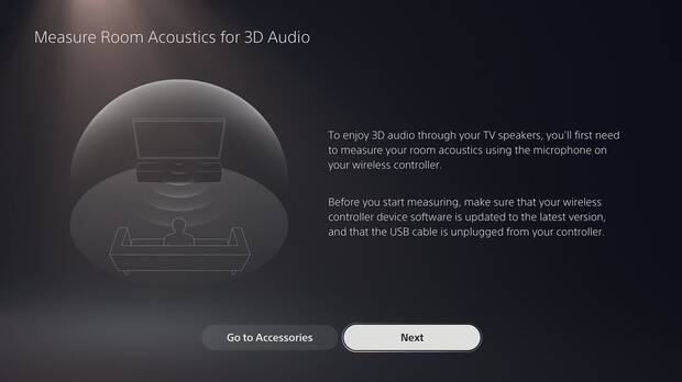 PS5 incluye audio 3D en TV.