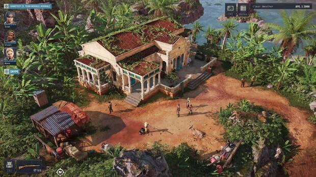 Jagged Alliance 3 gameplay