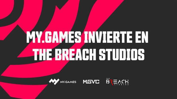 MY.GAMES invierte 3,5 millones de euros en The Breach Studios.