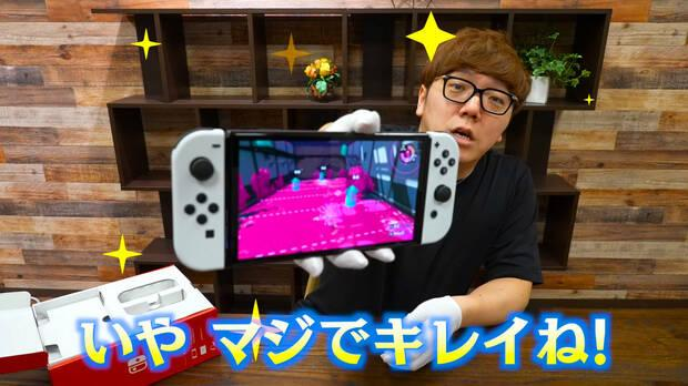 Splatoon 2 en Nintendo Switch OLED.