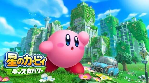 Imagen del nuevo juego de Kirby filtrado para Switch.