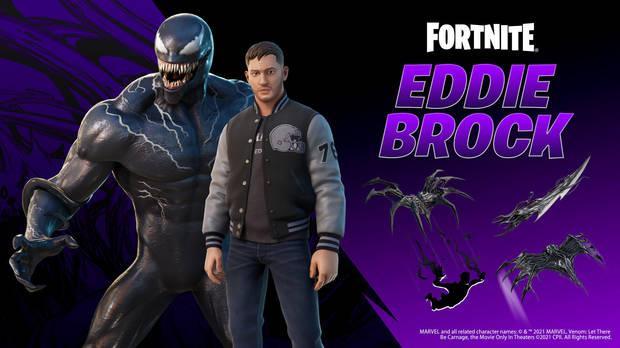 Skin de Eddie Brock (Venom): todos los contenidos