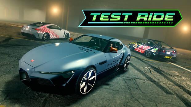 Vehículos de pruebas de GTA Online