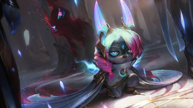 League of Legends - Aspecto de Vex guerrera del orden