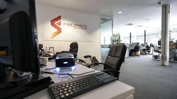 PlayStation firesprite new studio Oficinas en Liverpool.