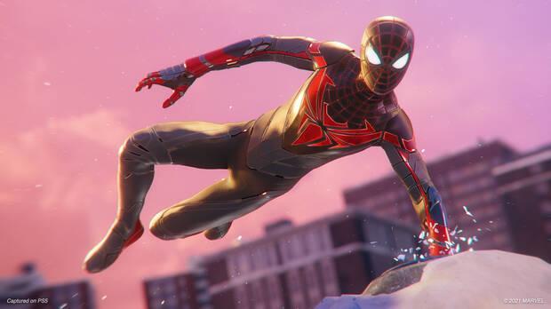 Captura de Spider-Man: Miles Morales en PS5.