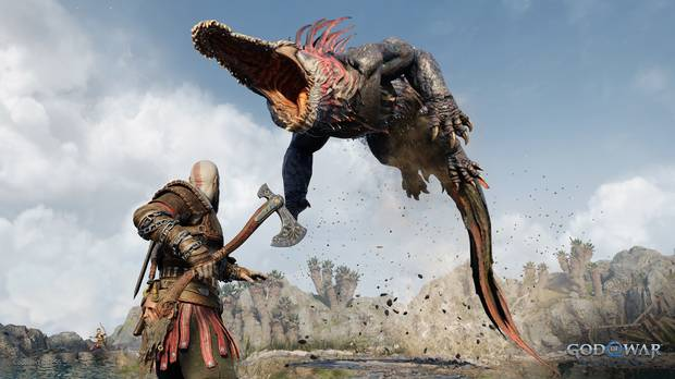 Captura de God of War: Ragnarok en PS5.