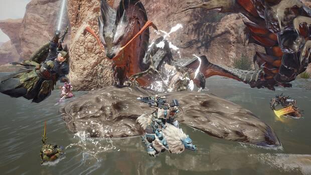 Captura de Monster Hunter Rise.