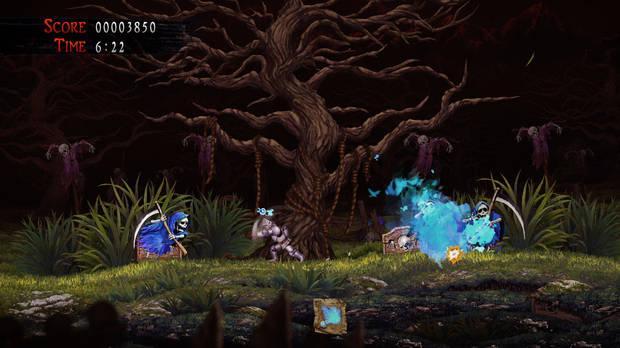 Captura de Ghost 'n Goblins Resurrection.