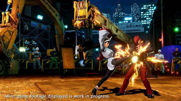 The King of Fighters 15 presenta a Chizuru Kagur