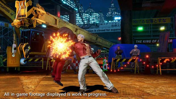 The King of Fighters 15 muestra a Yashiro Nanakase en acci