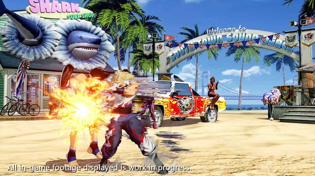 The King of Fighters 15 Andy Bogard movimientos