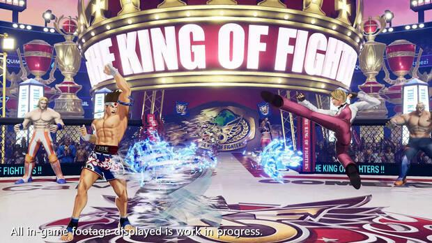 The King of Fighters 15 muestra a King en acci