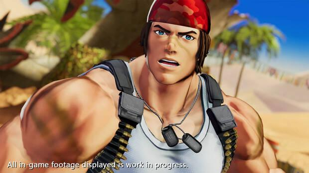 Captura de The King of Fighters XV.