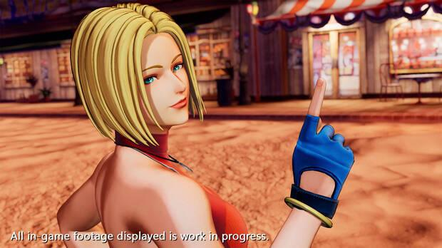 The King of Fighters 15 presenta a Blue Mary en v