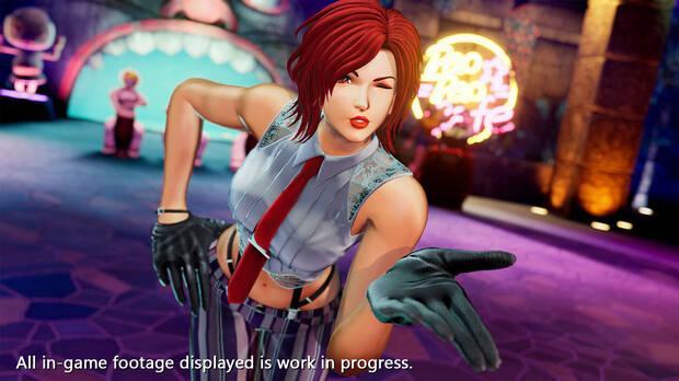The King of Fighters 15 presenta a Vanessa en v