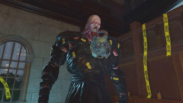 Imagen de Nemesis en Resident Evil Re:Verse.