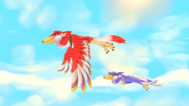 Captura de The Legend of Zelda: Skyward Sword HD.