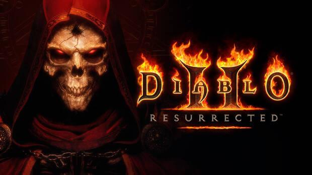 Diablo 2 Resurrected logo and main art