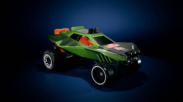 Uno de los mini coches de Hot Wheels Unleashed.