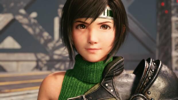 Captura de Yuffie en Episode INTERmission de Final Fantasy 7 Remake Intergrade.