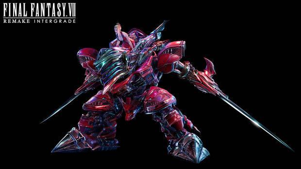Scarlet y Crimson Mare en Final Fantasy 7 Remake Intergrade.