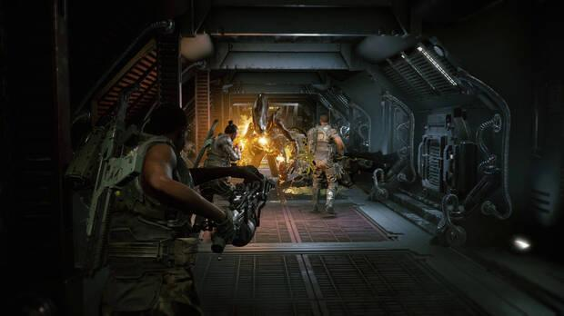 Captura de Aliens: Fireteam.