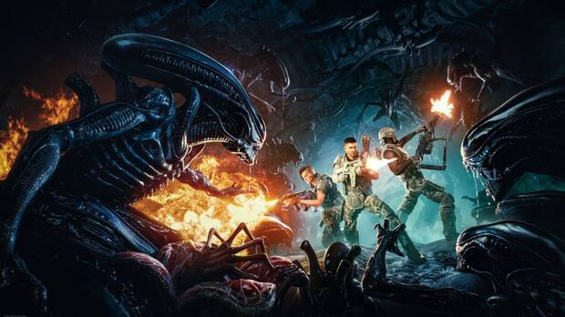 Captura de Aliens: Fireteam.