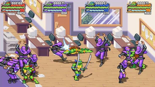 Tortugas Ninja nuevo juego